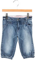 Armani Junior Girls' Straight-Leg Jeans