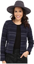Only Kimmie Cropped Jacquard Jacket