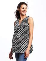 Old Navy Maternity Tie-Front Tunic