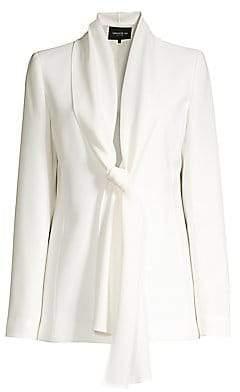Lafayette 148 New York Women's Kendria Tie-Front Blazer - Size 0