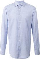Etro woven check shirt - men - Cotton - 39