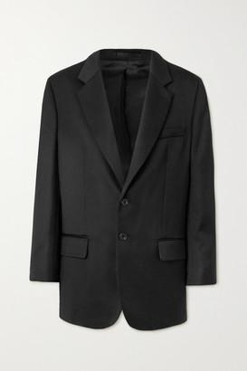 WRIGHT LE CHAPELAIN Wool-twill Blazer - Black