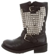 Ash Studded Moto Boots