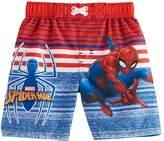 Marvel Toddler Boy Spider-Man Swim Trunks