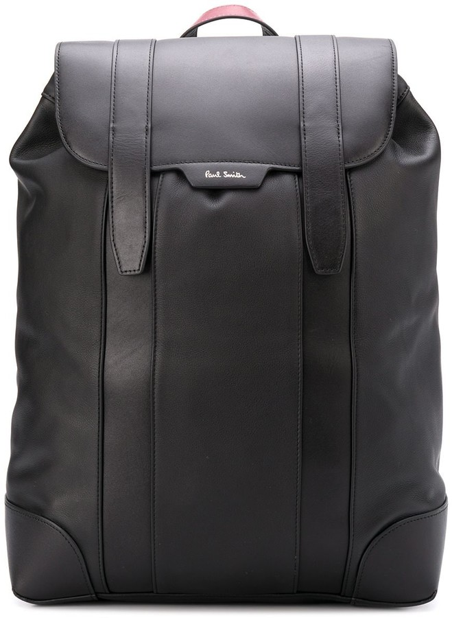 Paul Smith logo stamp backpack
