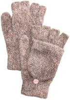 Steve Madden Marled Flip-Top Gloves