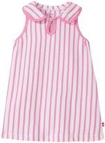 Zutano Breton Keyhole Collar Dress (Baby) - Hot Pink - 6 Months