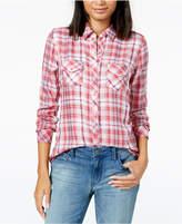 Maison Jules Plaid Shirt, Created for Macy's