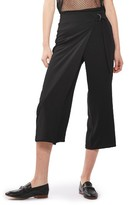 Topshop Women's D-Ring Crop Trousers