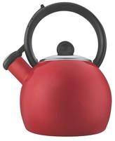 Copco Vienna Tea Kettle - 1.5 Quarts, Porcelain Enamel Red