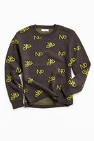 Urban Outfitters UO Classic Pattern Crew Neck Sweater