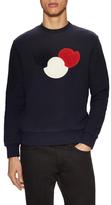 Moncler Logo Patch Crewneck Sweatshirt