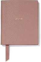 Smythson Berkley Textured-leather Diary - Beige