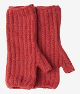 Toast Ribbed Merino Fingerless Mittens
