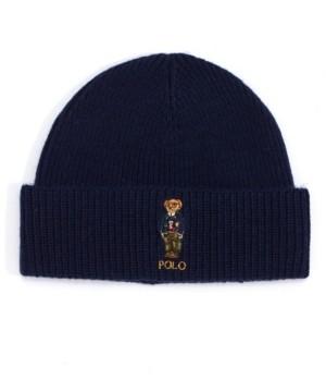 Polo Ralph Lauren Men's Cold Weather Bear Cuff Hat