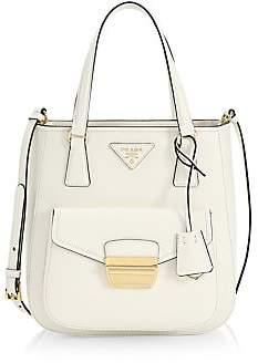 Prada Women's Metropolis Saffiano Leather Top Handle Bag