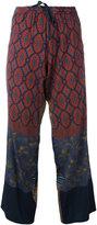 Pierre Louis Mascia Pierre-Louis Mascia - Anadas trousers - women - Silk/Spandex/Elastane - L