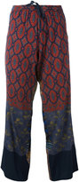 Pierre Louis Mascia Pierre-Louis Mascia - Anadas trousers - women - Silk/Spandex/Elastane - XL