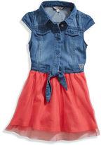 GUESS Lila Two-Fer Dress (12m-4T)