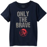 Diesel Only The Brave Tee (Toddler Boys)