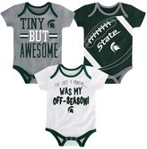 Baby Michigan State Spartans 3-Piece Bodysuit Set
