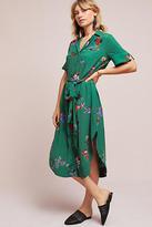 Maeve Floral Buttondown Shirtdress