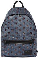 Diesel Cats Printed Denim Backpack