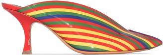 Y/Project Rainbow-Stripe 70mm Mules