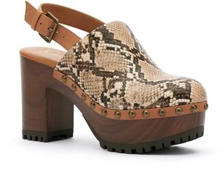Jessica Simpson Tiarah Snakeskin Print Platform Sandal