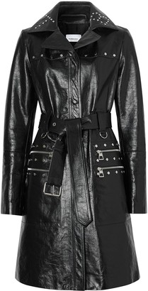 Burberry Studded Crinkled Trench