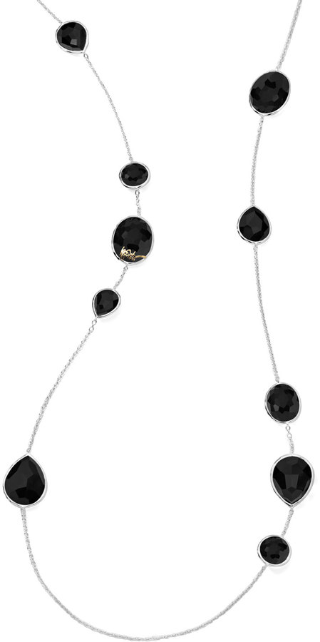 Ippolita Paparazzi Onyx Station Necklace