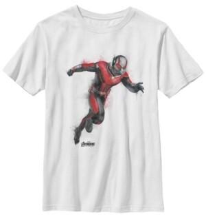 Fifth Sun Marvel Big Boys Avengers Endgame Watercolor Ant-Man Short Sleeve T-Shirt