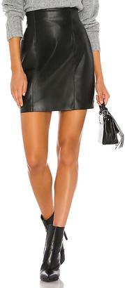 BB Dakota Girl Crush Vegan Leather Skirt