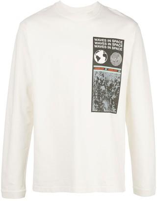 Ambush printed cotton T-shirt