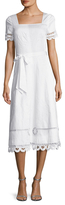 Temperley London Bellanca Embroidered A Line Dress