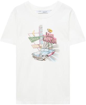 IRO Caylar Printed Cotton-jersey T-shirt