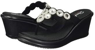 Skechers Rumblers - Whimsical Wonder (Black) Women's Shoes
