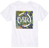 Young & Reckless Men's Iris Print Logo Cotton T-Shirt