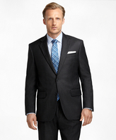 Brooks Brothers Regent Fit Saxxon Wool Bead Stripe 1818 Suit