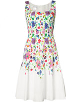 Oscar de la Renta sleeveless scoop neck dress