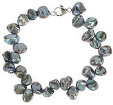Honora As Is Cultured Pearl 7.0mm Keshi Bracelet with Sterling Clasp