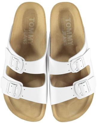 Tommy Jeans Colour Block Flat Sandals