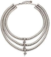 Dannijo Zayd Three-Row Crystal Necklace