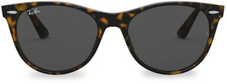 Ray-Ban RB2185 55MM Tortoiseshell Wayfarer Sunglasses