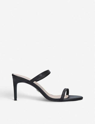 Kurt Geiger Petra leather stiletto sandals