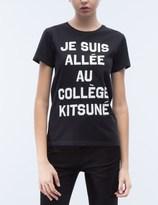 MAISON KITSUNÉ Je Suis Allee S/S T-Shirt
