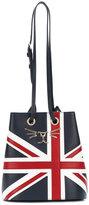 Charlotte Olympia Feline Union Jack bucket bag - women - Leather - One Size