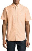 Nautica Striped Classic Fit Sport Shirt