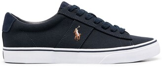 Polo Ralph Lauren Embroidered Logo Low-Top Sneakers
