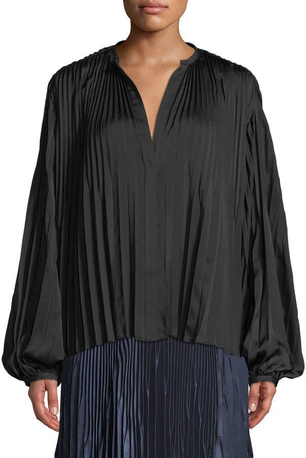 7d8391e6e3c52b Blouson Sleeve Blouse - ShopStyle